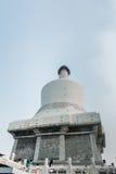 Bai Ta (pagode branco) Fotografia de Stock