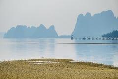 Bai Tu龙湾越南 免版税库存图片