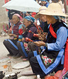 Bai Women at a Ceremony Stock Photo