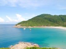 Baia ad ovest della grande onda di Hong Kong Immagini Stock Libere da Diritti
