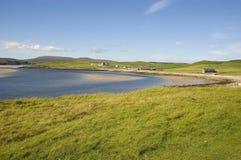 Baia calma dell'Orkney Immagine Stock