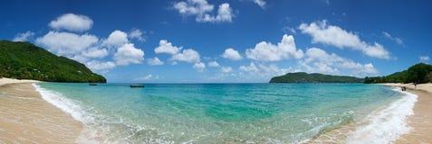 Baia caraibica della spiaggia Fotografia Stock Libera da Diritti
