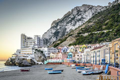 Baia catalana Gibilterra Immagine Stock Libera da Diritti