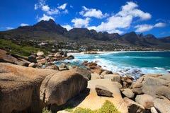 Baia degli accampamenti (Sudafrica) Immagine Stock