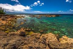 Baia degli squali di Pupukea Immagini Stock Libere da Diritti