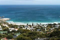 Baia dei campi (Cape Town, Sudafrica) immagini stock libere da diritti
