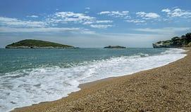 Baia dei Campi - Gargano - Puglia. Beach of Baia dei Campi - Gargano - Puglia Royalty Free Stock Image