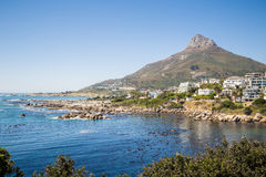 Baia dei campi - Sudafrica immagine stock libera da diritti