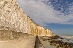 Baia dei frati, Sussex orientale, Regno Unito fotografia stock