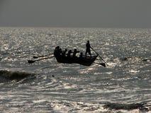 Baia dei pescatori di Bengala Immagine Stock