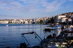Baia dei pescatori di Yalova Turchia Fotografia Stock Libera da Diritti