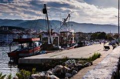 Baia dei pescatori di Yalova Turchia Fotografie Stock