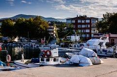 Baia dei pescatori di Yalova Turchia Immagine Stock
