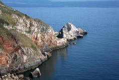 Baia del Anstey, Torquay fotografia stock
