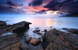 Baia del Dorset Kimmeridge fotografie stock