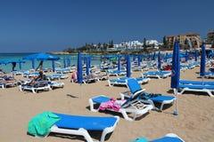 Baia del fico, Cipro Fotografie Stock