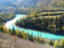 Baia del fiume, il fiume Moon Bay di kenas fotografie stock