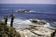 Baia del Laguna Beach immagine stock libera da diritti