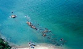Baia del mare Fotografia Stock