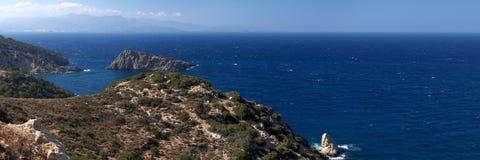 Baia del Mirabella Fotografia Stock
