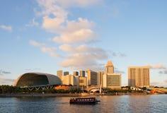 Baia del porticciolo di Singapore fotografie stock libere da diritti