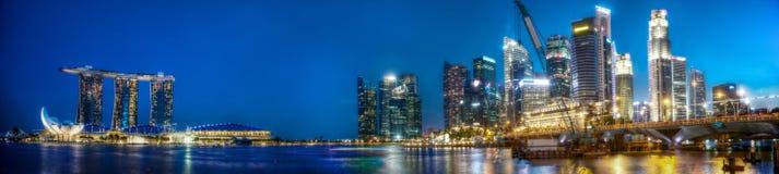 Baia del porticciolo di Singapore fotografia stock