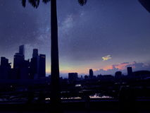 Baia del porticciolo di Singapore Immagine Stock Libera da Diritti