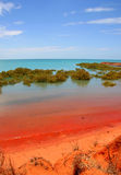Baia del Roebuck, Broome, Australia Immagini Stock Libere da Diritti