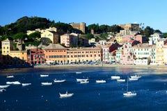 Baia Del Silenzio, Sestri Levante. Ligurien, Italien Lizenzfreie Stockbilder