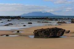 Baia dell'ancora a bassa marea Fotografia Stock