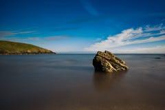 Baia dell'isola della capra Fotografia Stock