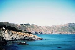 baia dell'oceano fotografia stock