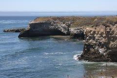 Baia dell'oceano Pacifico Fotografia Stock