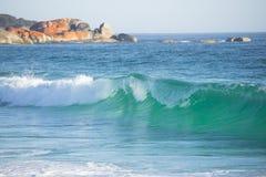 Baia della costa Tasmania dei fuochi Immagine Stock Libera da Diritti