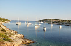 Baia della Croazia Immagine Stock