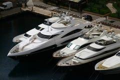 Baia della Monaco, Monte Carlo, città, Immagine Stock
