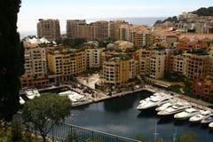 Baia della Monaco, Monte Carlo, città, Fotografia Stock