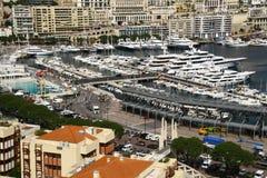 Baia della Monaco, Monte Carlo, città, Immagine Stock Libera da Diritti
