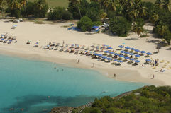 Baia della muggine - San Martino - Sint Maarten Immagine Stock Libera da Diritti