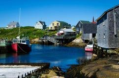 Baia della Peggy, Nuova Scozia Immagine Stock Libera da Diritti