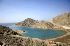 Baia della roccia nella regione del Mar Rosso Immagine Stock Libera da Diritti