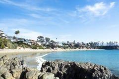 Baia della spiaggia Immagini Stock