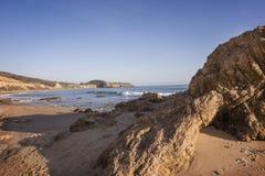 Baia della spiaggia Fotografie Stock