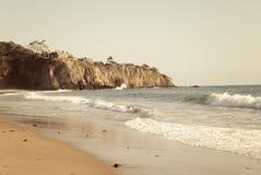 Baia della spiaggia Immagine Stock