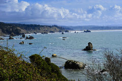 Baia della Trinidad, California immagine stock libera da diritti