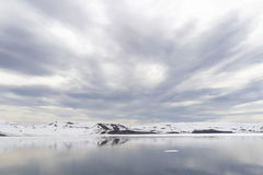 Baia delle baleniere, isola di inganno, Antartide Fotografia Stock