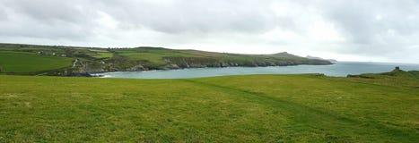 Baia di Abereiddi Pembrokeshire wales Fotografie Stock Libere da Diritti