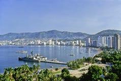 Baia di Acapulco Fotografia Stock