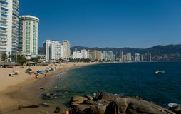 Baia di Acapulco Fotografie Stock