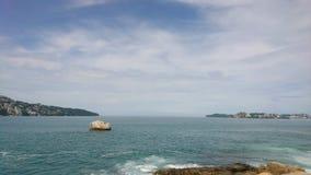 Baia di Acapulco immagini stock libere da diritti